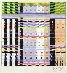 Gunta Stolzl, Wall hangings and fabrics, Bauhaus