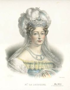 Marie Therese Charlotte, Duchesse D'Angouleme, the only child of Marie Antoinette and Louis XVI to survive the French Revolution.
