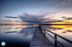 Check out my photo of a gorgeous sunset at the jetty