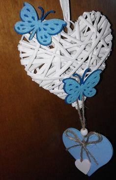 cuore fiocco nascita, by bandullera, 13,00 € su misshobby.com