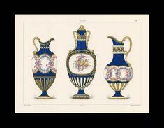 Sèvres soft-paste porcelain vases, La Porcelaine Tendre de Sèvres