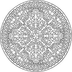Doodle Coloring, Mandala Coloring Pages, Coloring Book Pages, Printable Coloring Pages, Coloring Sheets, Coloring Pages For Kids, Dover Publications, Creative, Illustrator