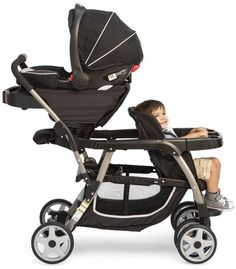 Graco Ready2grow Click Connect Stand Amp Ride Stroller