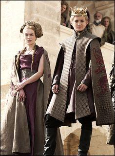 """Cersei Lannister, Joffrey Baratheon """"Game of Thrones"""""""