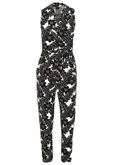 bestil Dorothy Perkins Overall / Jumpsuit /Buksedragter - black/off-white til kr…