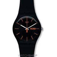Unisex Swatch Dark Rebel Watch SUOB704