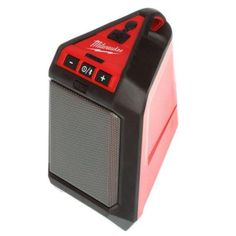 Milwaukee M12 12-Volt Lithium-Ion Cordless Wireless Jobsite Speaker-2592-20 - The Home Depot