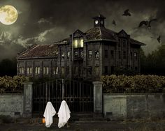 May all your Halloweens be filled with spooky houses.