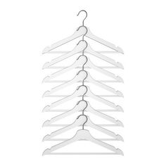 "IKEA Holzkleiderbügel ""Bumerang"" 8-er Pack Bügel aus massivem Holz in WEISS Ikea http://www.amazon.de/dp/B005I5WYLA/ref=cm_sw_r_pi_dp_o8ufxb1RE4C0F"