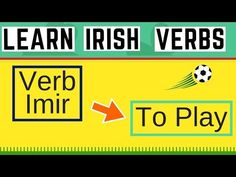 In this video I am going to explain the Irish verb Imir, which is to play. I will got through the tenses and give you some sample sentences that you could us. The Tenses, Grammar Tips, Sentences, Irish, Play, Learning, Youtube, Frases, Irish People