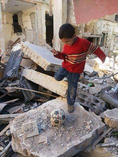 I'm #Syrian child I want to play. Stop #war