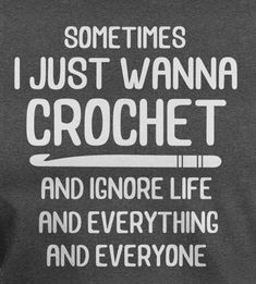 Crochet online classes are the perfect way to relax as a busy mom. Crochet Crafts, Crochet Yarn, Crochet Stitches, Crochet Projects, Crochet Throws, Crochet Patterns, Crochet Afghans, Dishcloth Crochet, Knitting Humor