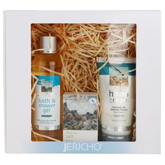 Zestaw kosmetyków to według Ciebie nudny prezent? Nie, jeśli są to ekskluzywne kosmetyki naturalne w pięknym opakowaniu. Polecamy Jericho Body Care: http://www.iperfumy.pl/jericho/body-care-zestaw-kosmetykow-ii/