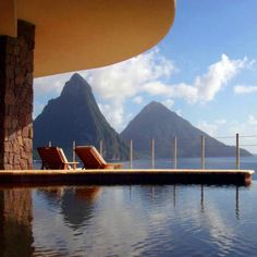 St. Lucia gives you the best backdrop that is only second to your special someone's loving eyes.