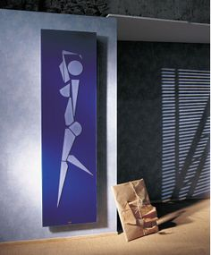 hydronic heating radiators designer cinier danseuse panel heater - Designer Electric Wall Heaters