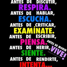 Consejos - Affirmative tu commands: Idea for Mini project? Spanish Grammar, Spanish Teacher, Spanish Classroom, Spanish Memes, Teaching Spanish, Spanish Quotes, Classroom Commands, Spanish Posters, Unspoken Words