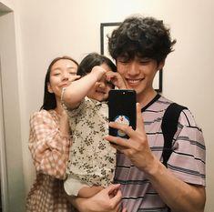 New Fashion Korean Couple Love 30 Ideas Cute Asian Babies, Korean Babies, Asian Kids, Cute Babies, Couple Ulzzang, Ulzzang Kids, Couple With Baby, Best Couple, Cute Family