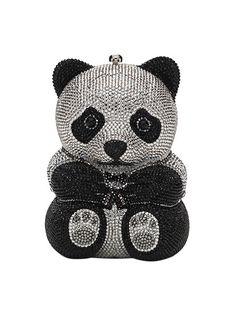 Teddy Bear Crystal Clutch