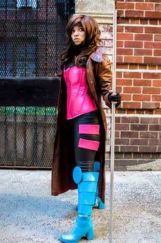 Character: Gambit   Cosplayer: Lua Suicide   Series: MARVEL Comics