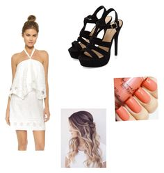 """Untitled #100"" by ravekait ❤ liked on Polyvore featuring Saylor"