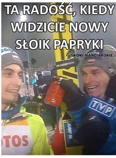 Zbiór memów o tematyce skoków narciarskich. Codzienne jeden nowy mem.… #losowo # Losowo # amreading # books # wattpad Ski Jumping, Zero Two, Skiing, Baseball Cards, Humor, Memes, Funny, Sports, Loki