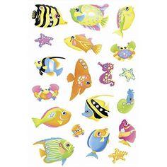 Schmucketikett Magic Fische Jewel 1Bl 1Pack
