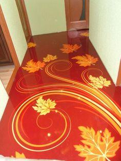 Epoxy Resin Flooring, Poured Resin Floors in London, UK - Royal Floors Acid Stained Concrete Floors, Painted Concrete Floors, Painting Concrete, Faux Painting, Epoxy 3d, Epoxy Resin Flooring, 3d Flooring, Epoxy Floor Designs, Steel Home Kits