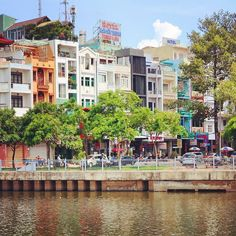 I'll miss the funky apartments by the river where I lived in Saigon.