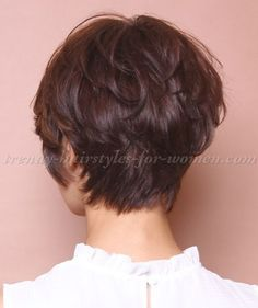 Image result for Front View Back View Women Short Hairstyles 50 and Over