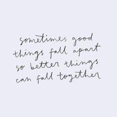 Alles komt goed, soms zelf beter...