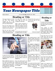 Use This Inside Page To Start Or Continue Information Articles
