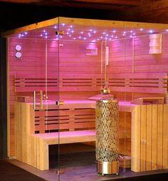 Bio sauna | Společnost Dyntar | Sauna a infrasauna – Sauny Dyntar Saunas, Lighting, Design, Home Decor, Decoration Home, Room Decor, Steam Room, Lights