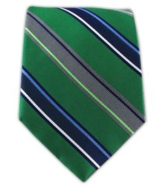Twin Stripe - Emerald | Ties, Bow Ties, and Pocket Squares | The Tie Bar