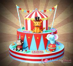 Circus Cake for Zayan