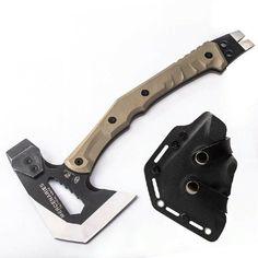 Camping Tools, Camping Supplies, Camping Survival, Tactical Survival, Survival Tools, Tactical Gear, Machado Tomahawk, Tomahawk Axe, Camp Axe