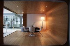 Wood Office Lounge Union Swiss Office Interior | Interior Design Decorating
