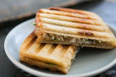 Crab Salad and Sourdough Panini on Simply Recipes