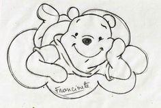 Dibujos de Winnie Pooh para Colorear, Pintar e Imprimir
