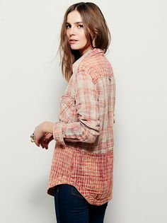 Lyndsy Buttondown at Free People Clothing Boutique