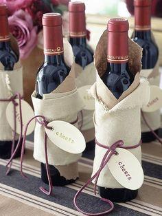 simple & elegant bottle wraps