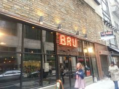 Bru is a bar that serves good beer. Don't come here looking for an original German Bru pub because you're not going to get it.