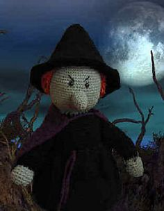 Ravelry: Witch Doll pattern by C.L. Halvorson