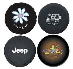 HUGE SELECTION of Jeep spare tire covers