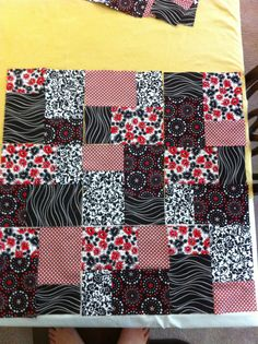 Brick quilt   TRY THIS ONE!