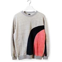 Nico Sweatshirt ($100) ❤ liked on Polyvore featuring tops, hoodies, sweatshirts, sweat tops, long sleeve tops, cotton sweat shirts, long sleeve sweatshirt and sweatshirts hoodies