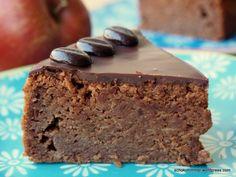 Dunkler Schoko-Apfel-Kuchen mit Lieblingskuchenpotential #ichbacksmir