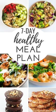 Try this lower carb meal plan if you're trying… 7 day clean eating meal plan! Try this lower carb meal plan if you're trying to lose weight or improve your overall health! Clean Eating Challenge, Clean Eating Meal Plan, Clean Eating Snacks, Healthy Eating, Eating Habits, Eating Vegan, Clean Eating Recipes For Weight Loss, Healthy Recipes, Healthy Meal Prep
