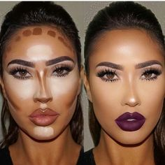Make up contouring, how to contour, face contouring makeup, contouring Makeup Contouring, Contouring And Highlighting, Skin Makeup, Strobing, Contouring Products, Contour Face, Contouring Tutorial, How To Contour Your Face, Makeup Eyes