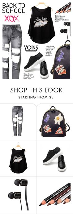 """Yoins1: Back to school"" by shambala-379 ❤ liked on Polyvore featuring WithChic, GALA, Vans, StreetStyle, BackToSchool and yoins"