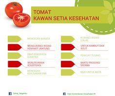 Tomat: Kawan Setia Kesehatan ~ Infografis Kesehatan
